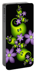Portable Battery Charger featuring the digital art Cheerful by Gabiw Art