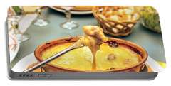 Cheese Fondue With Friends Portable Battery Charger