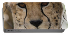 Cheetah Eyes Portable Battery Charger by Dan Sproul