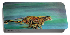 Cheetah Run Portable Battery Charger