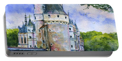 Chenonceau Castle France Portable Battery Charger