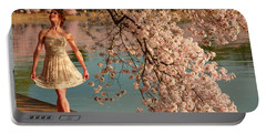 Cherry Blossoms 2013 - 082 Portable Battery Charger