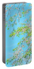 Cherry Blossoms Falling Portable Battery Charger