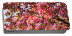 Cherry Blossoms In Washington D.c. Portable Battery Charger by Mitchell R Grosky