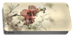 Portable Battery Charger featuring the photograph Cherry Blossoms by Peter v Quenter