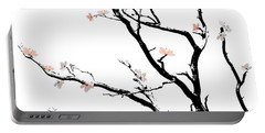Cherry Blossoms Tree Portable Battery Charger