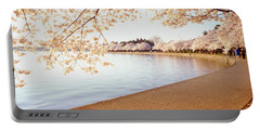 Cherry Blossoms, Washington Dc Portable Battery Charger