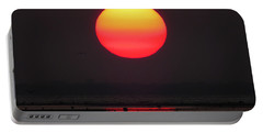 Portable Battery Charger featuring the photograph Cherry Drop Sunrise by Dianne Cowen
