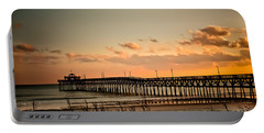 Cherry Grove Pier Myrtle Beach Sc Portable Battery Charger