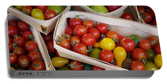 Cherry Tomatos Portable Battery Charger