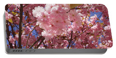 Cherry Trees Blossom Portable Battery Charger