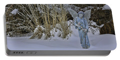 Cherub Statue 2 Portable Battery Charger