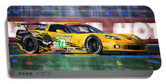Chevrolet Corvette C6r Gte Pro Le Mans 24 2012 Portable Battery Charger