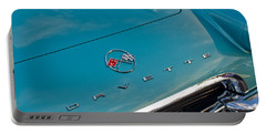 Chevrolet Corvette Hood Emblem 2 Portable Battery Charger