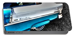 Chevy Bel Air Art 2 Tone Side View Art 1 Portable Battery Charger