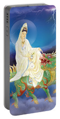 Chi Lin Kuan Yin Portable Battery Charger by Lanjee Chee