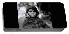 Chiapas Girl Portable Battery Charger