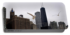 Chicago Birds 2 Portable Battery Charger by Verana Stark