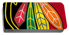 Chicago Blackhawks 2 Portable Battery Charger