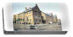 Chicago Illinois - Hull House - Halstead Avenue - 1906 Portable Battery Charger