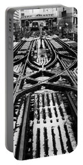 Chicago 'l' Tracks Winter Portable Battery Charger
