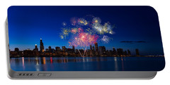 Chicago Lakefront Fireworks Portable Battery Charger