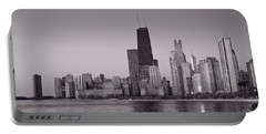 Chicago Morning Bw Portable Battery Charger