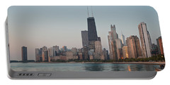 Chicago Morning Portable Battery Charger