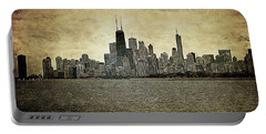 Chicago On Canvas Portable Battery Charger