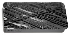 Chicago Railroad Yards Portable Battery Charger