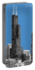 Chicago Sears Tower - Slate Portable Battery Charger