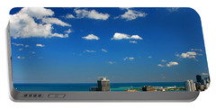 Chicago Skyline Big Sky Lake Portable Battery Charger