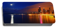 Chicago Skyline Moonlight Portable Battery Charger