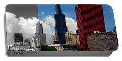 Chicago Skyline Sears Tower Portable Battery Charger