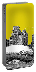Chicago The Bean - Mustard Portable Battery Charger