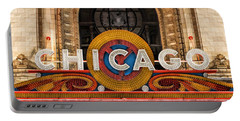 Chicago Theatre Marquee Sign Portable Battery Charger