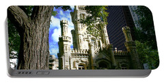 Chicago Water Tower Castle Portable Battery Charger