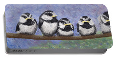 Chickadee Chicks Portable Battery Charger