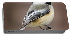 Chickadee Square Portable Battery Charger
