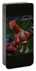 Chickens Portable Battery Charger