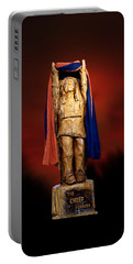 Chief Illiniwek University Of Illinois 06 Portable Battery Charger by Thomas Woolworth