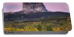 Chief Mountain Sunrise Portable Battery Charger