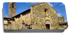 Portable Battery Charger featuring the photograph Chiesa Di Santa Maria Assunta by Fabrizio Troiani