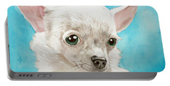 Chihuahua Dog White Portable Battery Charger