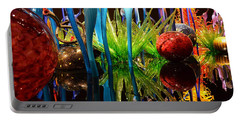 Chihuly-11 Portable Battery Charger by Dean Ferreira
