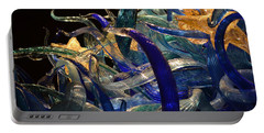 Chihuly-3 Portable Battery Charger by Dean Ferreira