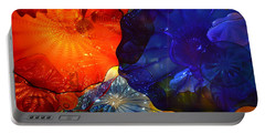 Chihuly-7 Portable Battery Charger by Dean Ferreira