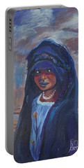 Child Bride Of The Sahara Portable Battery Charger