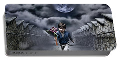 Child Of The Moon Portable Battery Charger