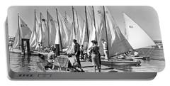 Child Skippers In La Regatta Portable Battery Charger